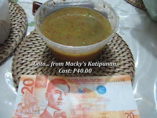 Macky's Katipunan Goto