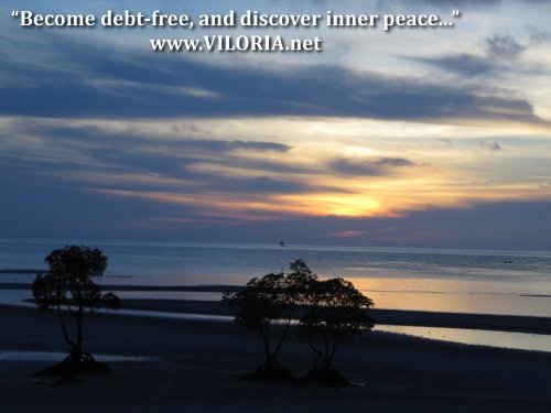 Become debt-free and discover inner peace